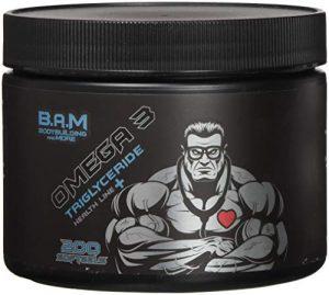 Fan Edition B.A.M. Omega 3 Triglyceride Epa Dha Essentielle Ungesättigte Fettsäuren 200 Softgel Kapseln