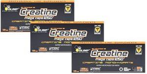 Olimp Creatine 1250 Mega Caps, 3er Pack, (3x 120 Kapseln)