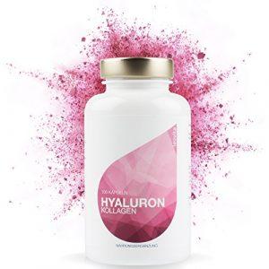 LEOVita Hyaluron Kollagen – Anti Aging – für ein gesundes, frisches und glattes Hautbild – Hyaluronsäure hochdosiert + Kollagen-Hydrolisat – 100 Kapseln – hergestellt in Deutschland