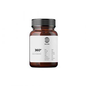 360° natürliche Komplettlösung mit allen wichtigen Vitaminen, Mineralstoffen und Spurenelementen – B, B12, C, D3 Multivitamin – Nahrungsergänzungsmittel Kapseln von DALUMA