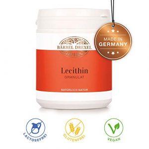 BÄRBEL DREXEL Sojalecithin Lecithin Granulat Lecithin B Vitamine Cholin Ungesättigte Essentielle Fettsäuren (320g) 100% Vegane Herstellung Deutschland Buchweizen