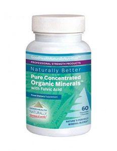 Pure Concentrated Organic MineralsTM Capsules (Rein konzentrierte organische Mineralien Kapseln)