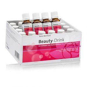 Sanct Bernhard Beauty-Drink mit Kollagen-Peptiden (VERISOL®), Hyaluronsäure, Vitaminen, Zink, Kupfer, Monatspackung 30x 20 ml