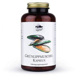 Kräuterhandel Sankt Anton – Grünlippmuschel Kapseln – 300 Kapseln – hochdosiert – Deutsche Premium Qualität