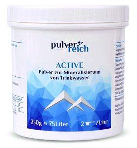Pulverreich Active – Elektrolyte pur für Sport und Reisen – Mineralgetränk ohne Aroma, zuckerfrei, optimal für Trinksysteme oder Wassersprudler, Pulver
