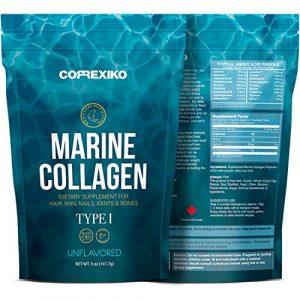 Premium Marine kollagen Hydrolysat Peptide (Made in Canada) – Von Wild gefangenem Fisch (nicht gezüchtet), Anti-Aging-Protein-Pulver für Haut, Haare, Nägel, Gelenke, Knochen und Verdauungs-Gesundheit