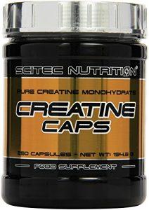 Scitec Nutrition Creatine Creatine, 250 Kapseln, 1er Pack (1 x 162g)