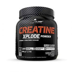 Olimp Creatine Xplode Powder | 6 Creatines Blend | Kreatin in Pulverform | Ananas Geschmack | 500 g