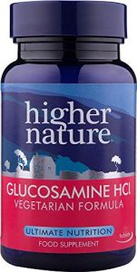 Higher Nature Vegetarisches Glucosamin-Hydrochlorid – 180 Tabletten