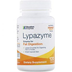 Lypazyme, 120 Capsules by Houston Enzymes