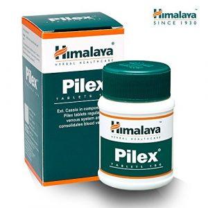 HIMALAYA HERBALS Pilex | Natürliche Hämorrhoiden Behandlung | Hämorrhoiden Fissurenbehandlung, Schmerzlinderung | Glutenfreie Tabletten, 100 Stücken
