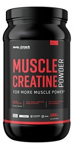 Body Attack Muscle Creatine (Creapure), 1er Pack (1 x 1 kg)