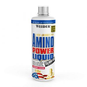 Weider, Amino Power Liquid, Cranberry, 1er Pack (1x 1000ml)