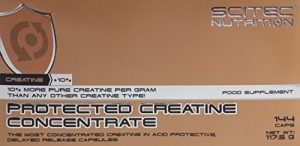 Scitec Nutrition Creatine Protected Creatine Concentrate, 144 Kapseln, 1er Pack (1 x 117,5g)