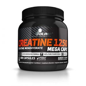 2 x Olimp Creatine 1250, 400 Mega Caps (2er Pack)