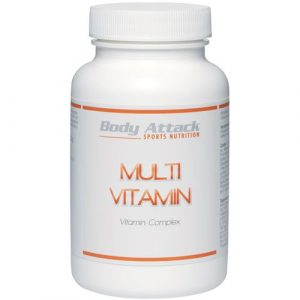 Body Attack Multi Vitamin, 100 Tabletten