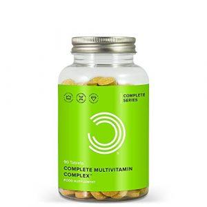 BULK POWDERS Complete Multivitamin Komplex Tabletten, Vitamine hochdosiert