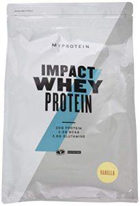 Myprotein Impact Whey Protein Vanilla, 2500g