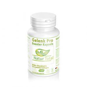 Gelenk Pro Booster Formel optimal mit Glucosamine Chondroitin MSM Hyaluronsäure Kollagen V Plasma Lecithin und Vitaminen – Gelenkkapseln hochdosiert