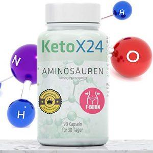 Aminosäuren | 90 Kapseln/Tabletten für 30 Tage | Für Muskelaufbau & Abnehmen | Hochwertige Amino Proteine HCE höchster Reinheit