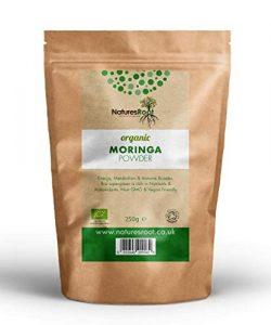 Natures Root Bio Moringa Pulver 1kg – 100% Natürliches Grünes Superfood | Vegane Vollwertkost | GVO-frei | Reich an Antioxidantien