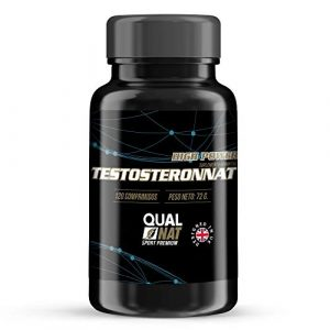 Testosteron zur des Muskelwachstums und der Kraft – Ergänzungsmittel für Sportler, das die sportliche Leistungsfähigkeit verbessert – Erhöht die Resistenz und die Libido – 120 Testosteron Kapseln