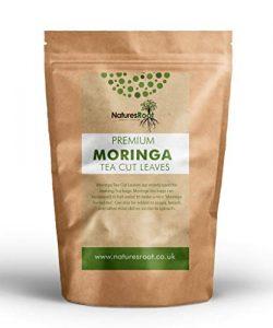 Natures Root Moringa Teeblätter 500g (Getrocknet & Zerkleinert) – Reich an Antioxidantien und Vitaminen | Ideal für Tees, Rezepte und Getränke