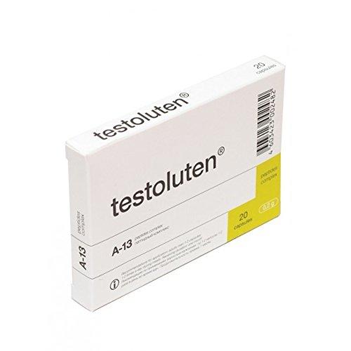 Testoluten - Testikelextrakt - 20 Kapseln pro Packung