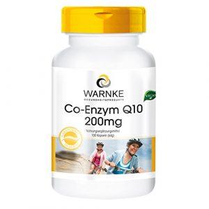 Co-Enzym Q10 200mg – 100 vegane Kapseln