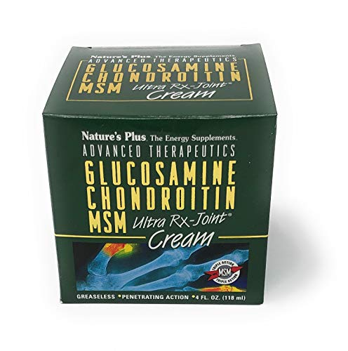 Nature's Plus Glucosamine/Chondroitin/MSM Ultra Rx-Joint® Creme in der Dose 118 ml Dose (118ml)