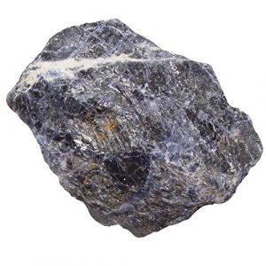 Sodalith XL Rohstück Rohstein blau weiße Maserung ca. 500 – 700 Gramm.(3713)