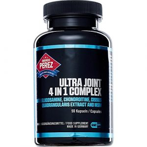 Ultra Joint 4-in-1 Complex – Glucosamin – Chondroitin – Cissus Quadrangularis – MSM – 90 Giant Kapseln – Made in Germany