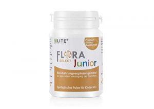 Elite Nutrition® FloraSELECT Junior I Probiotika in Bio-Qualität für Kinder I mit 5 ausgewählten Darmkulturen I hergestellt in Deutschland