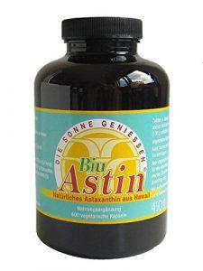 Astaxanthin aus Hawaii – BiuAstin 600 vegetarische Kapseln | Hawaii | mit 4 mg natürlichem Astaxanthin – Das Original Ivarsson's BiuAstin – versandkostenfrei