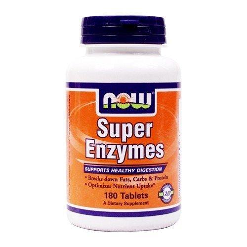 Now Foods I Super Enzyme I Für die Verdauung I 180 Tabletten