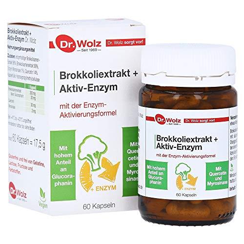 BROKKOLIEXTRAKT+Aktiv-Enzym Dr.Wolz msr.Kaps. 60 Stück